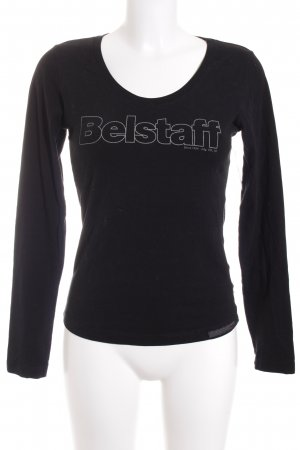 Belstaff Longesleeve zwart atletische stijl