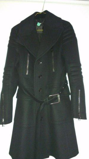 Belstaff Wollen jas zwart Wol