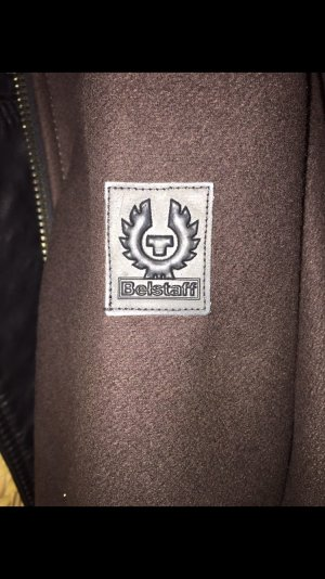 Belstaff Wool Coat brown-black brown wool