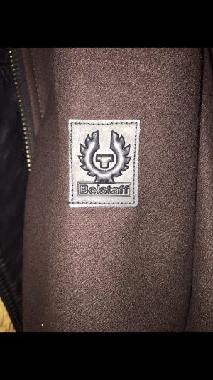 Belstaff Wollen jas bruin-zwart bruin Wol
