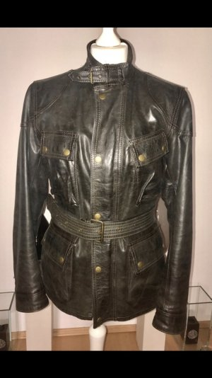 Belstaff- Panther Damen Jacke, Leder Größe 46