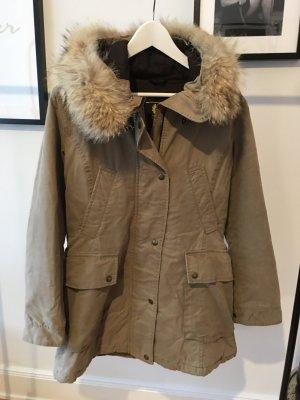 Belstaff Manteau d'hiver multicolore fourrure