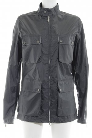 Belstaff Raincoat grey-dark grey Logo application