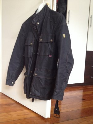 Belstaff Outdoor Jacket black cotton