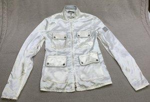 Belstaff Biker Jacket white-silver-colored
