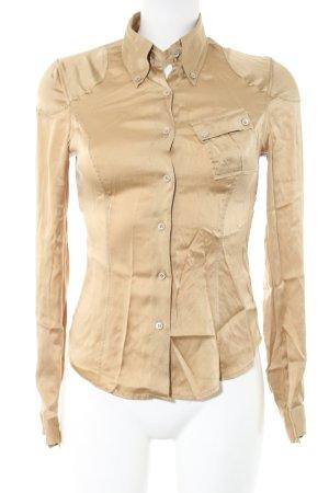 Belstaff Zijden blouse goud casual uitstraling