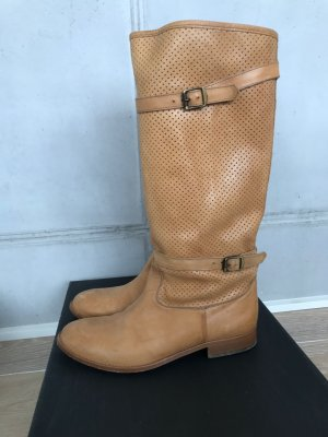 Belstaff Chelsea Boots sand brown-camel leather