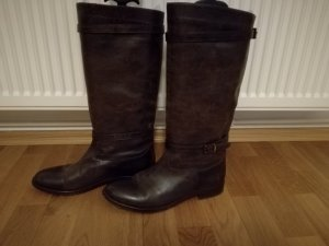Belstaff High Boots dark brown