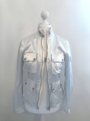 Belstaff Biker Jacket white-silver-colored