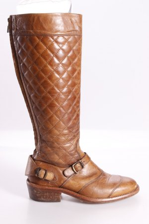 Belstaff Quilted Boots Brown