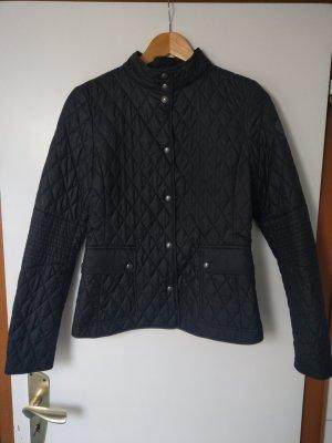 Belstaff Gewatteerd jack zwart-lichtbruin Polyester