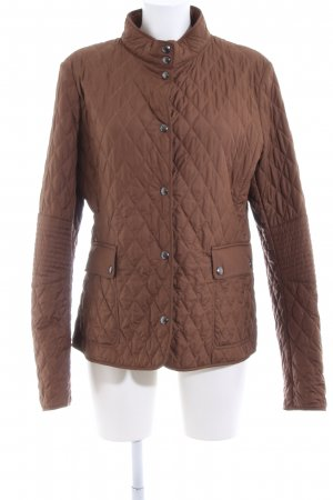 Belstaff Quilted Jacket brown quilting pattern casual look