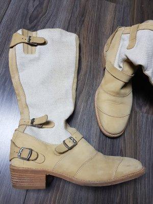Belstaff Stretch laarzen licht beige
