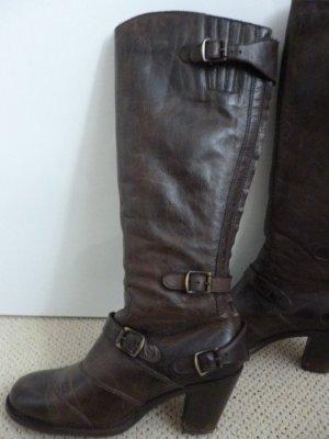 Belstaff Heel Boots black leather