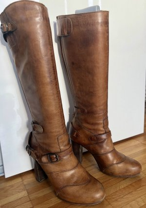 Belstaff Heel Boots cognac-coloured