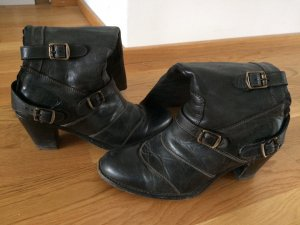 Belstaff Heel Boots anthracite leather