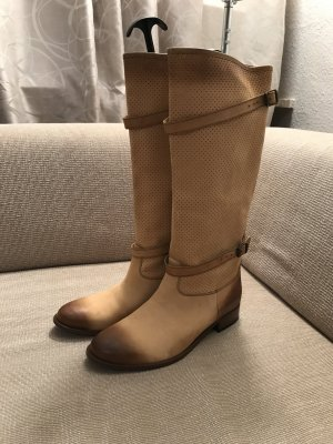 Belstaff Stiefel Lederstiefel 41 neu Leder Boots