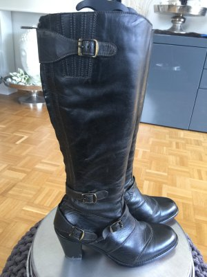 Belstaff Heel Boots black-taupe leather