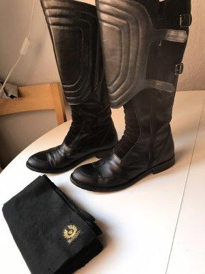Belstaff-Stiefel schwarz, Gr.37, gebraucht, s. Bilder