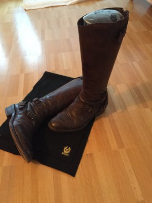 Belstaff-Stiefel Trailmaster blackbrown