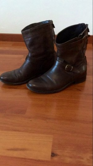 Belstaff Booties dark brown-black brown