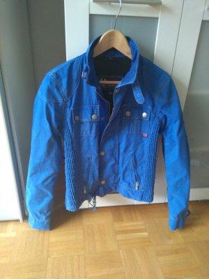Belstaff Biker Jacket neon blue