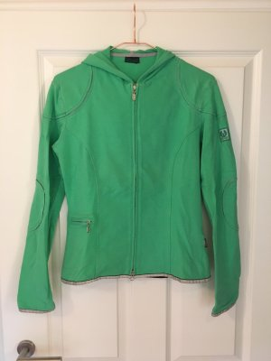 Belstaff Sweatjack neon groen Katoen
