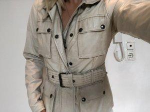Belstaff Leather Jacket beige