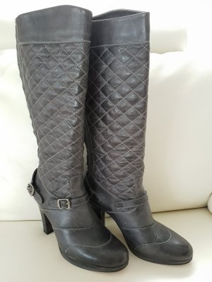Belstaff Trialmaster PS Lady Biker Stiefel Gr.40 Antique Gray