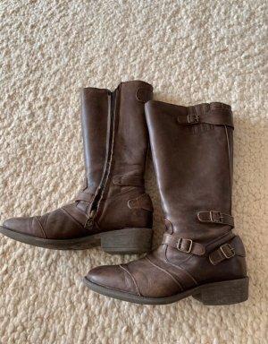 Belstaff Short Boots brown leather
