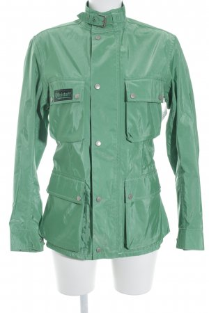 Belstaff Between-Seasons Jacket green wet-look