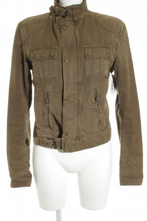 Belstaff Between-Seasons Jacket green grey casual look