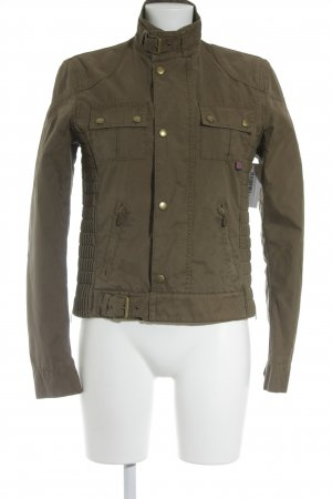 Belstaff Between-Seasons Jacket olive green street-fashion look