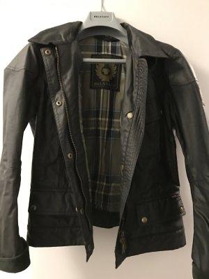 Belstaff Übergangsjacke schwarzbraun Street-Fashion-Look