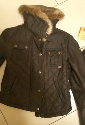 Belstaff Fur Jacket dark brown