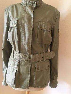 Belstaff Veste militaire kaki-gris vert
