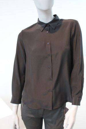 Belstaff Long Sleeve Blouse black silk