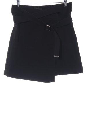 Belstaff Jupe portefeuille noir style décontracté