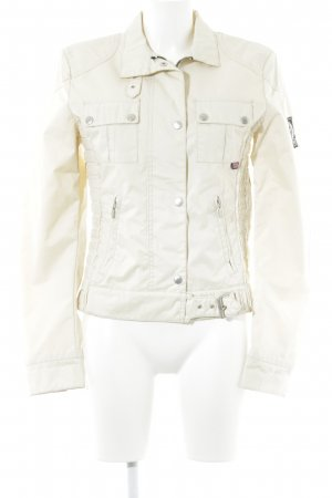 Belstaff Coupe-vent beige clair style extravagant