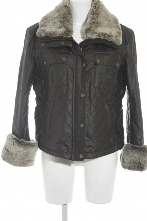Belstaff Winter Jacket dark brown-light brown classic style