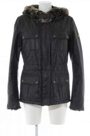 Belstaff Giacca invernale nero stile casual