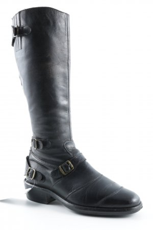 Belstaff Winter Boots dark brown casual look