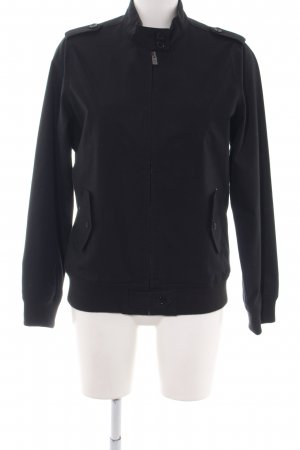 Ben Sherman Collegejacke schwarz Business-Look