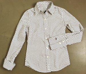 Ben Sherman Camicia blusa bianco-nero Cotone