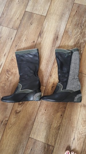 Ben Sherman Stiefel Wedges 39