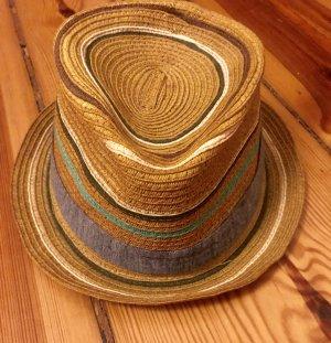 Ben Sherman Cappello di paglia multicolore