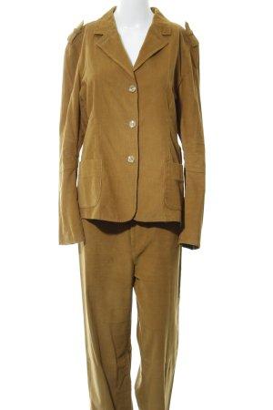 Benbarton Traje de pantalón marrón arena estilo «business»