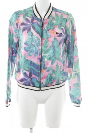 Bench Blouson floral pattern casual look