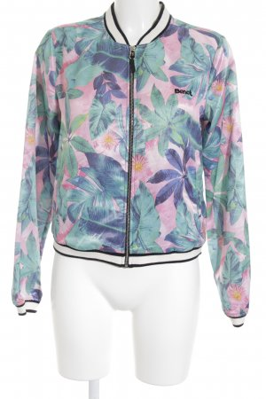 Bench Blouson florales Muster Glanz-Optik