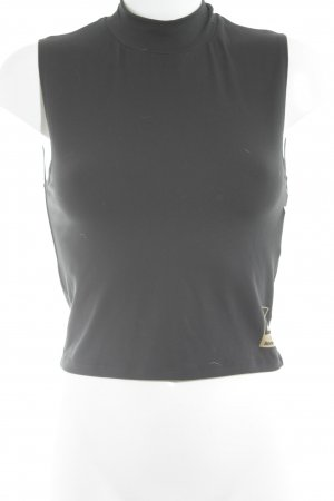 Bench Cropped Top schwarz-goldfarben Casual-Look